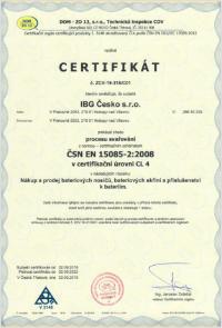 ČSN EN 15085